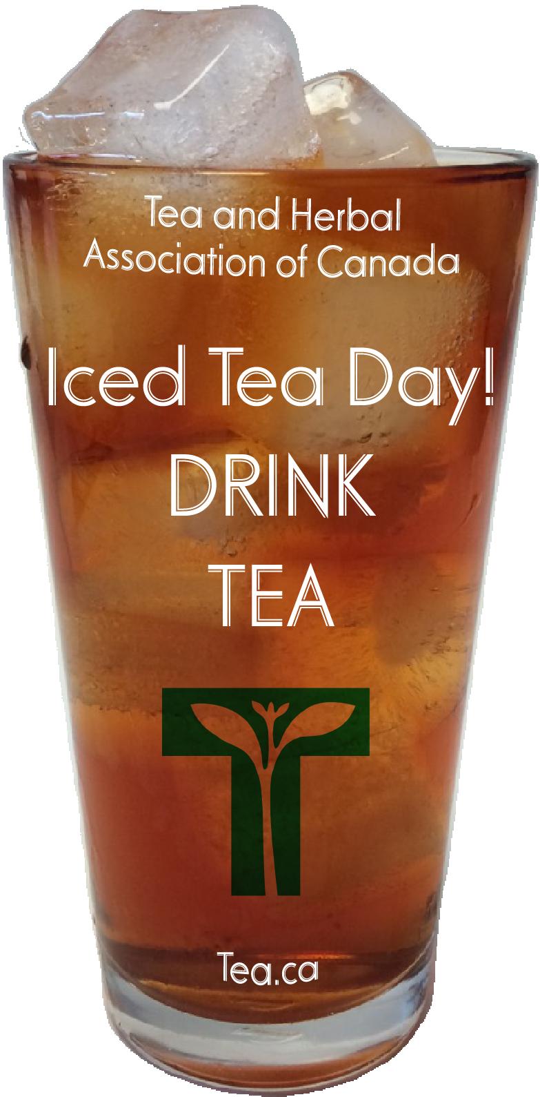 Iced Tea Day! Drink Tea!