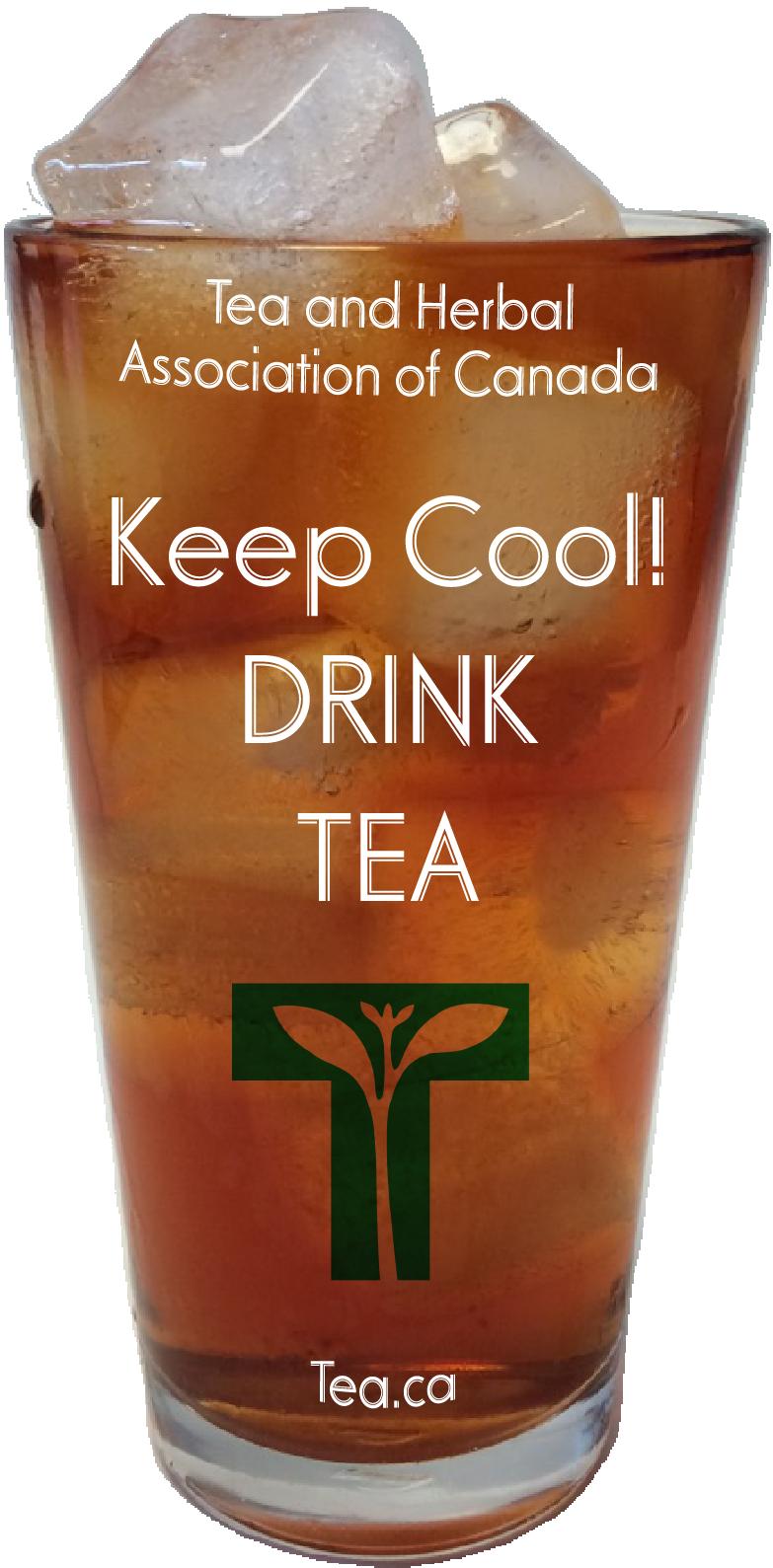 Keep Cool! Drink Tea!