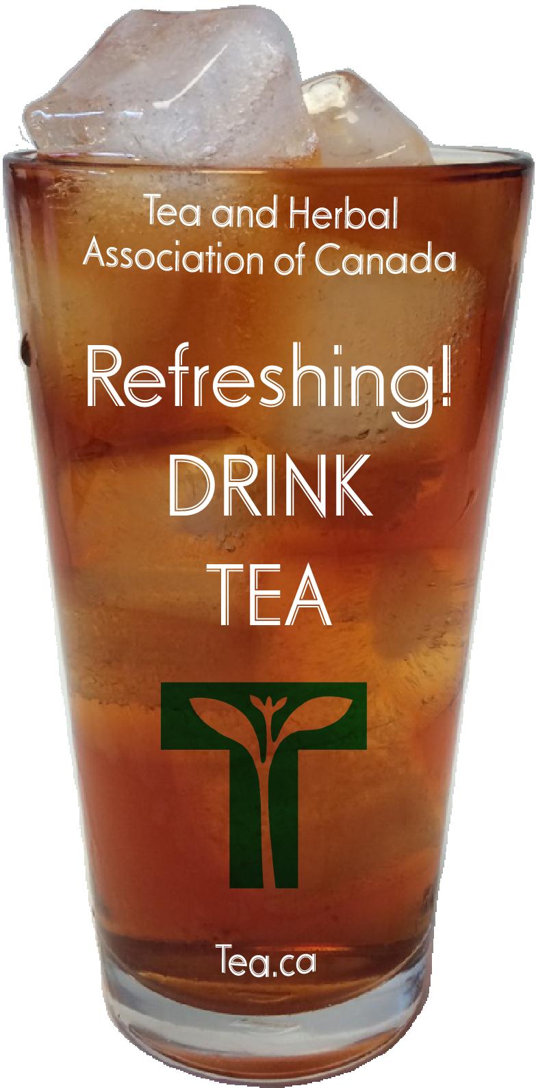 Refreshing! Drink Tea!