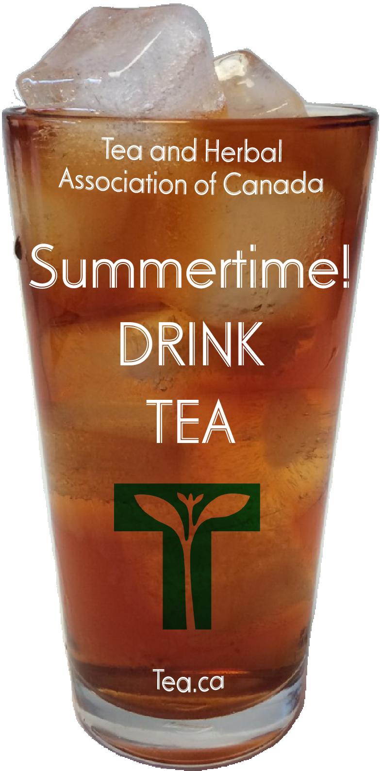 Summertime! Drink Tea!