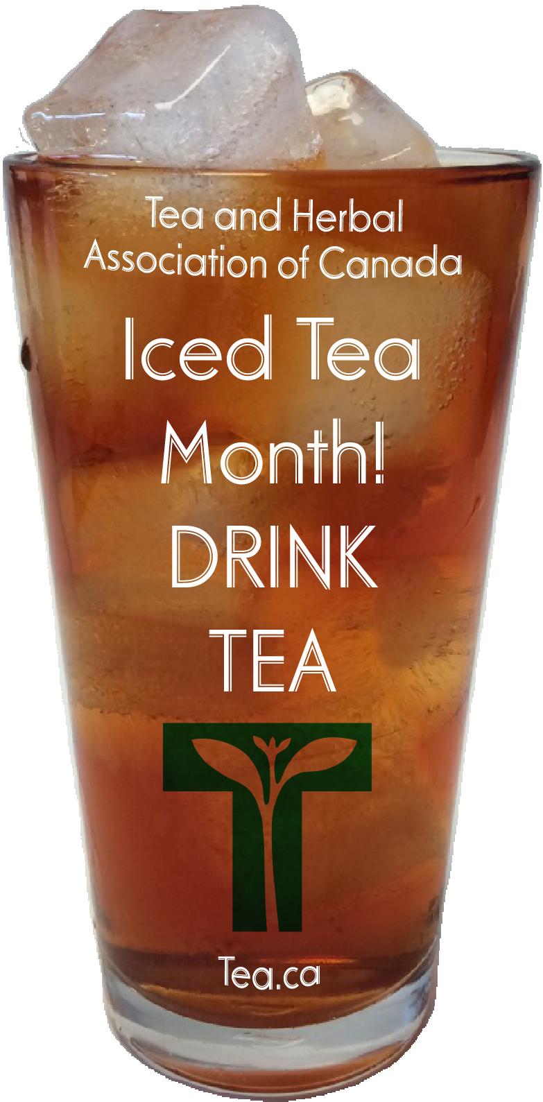 Iced Tea Month! Drink Tea!