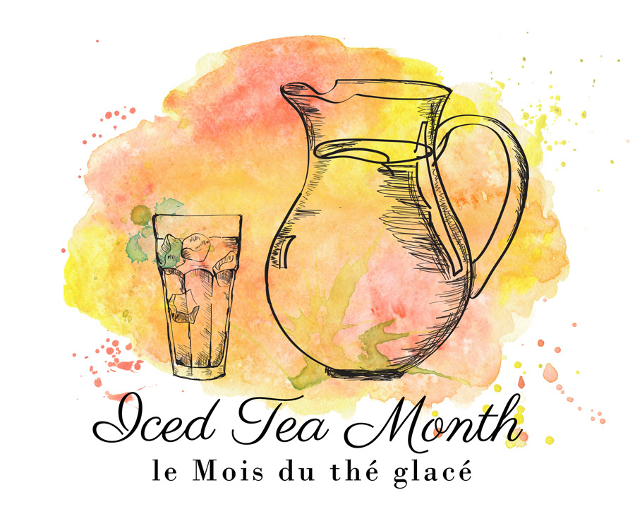 Iced Tea Month Logo