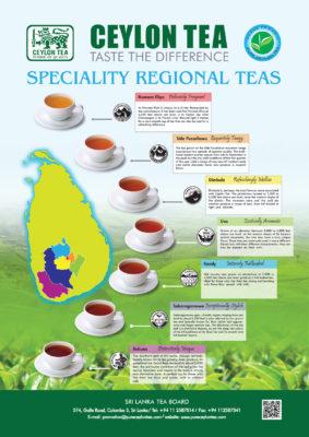 Sri Lanka Specialty Tea Regions